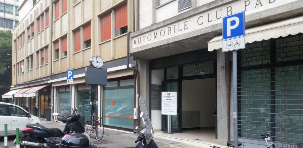 A Padova il poliambulatorio Scrovegni-Med si trova a fianco della sede dell'ACI